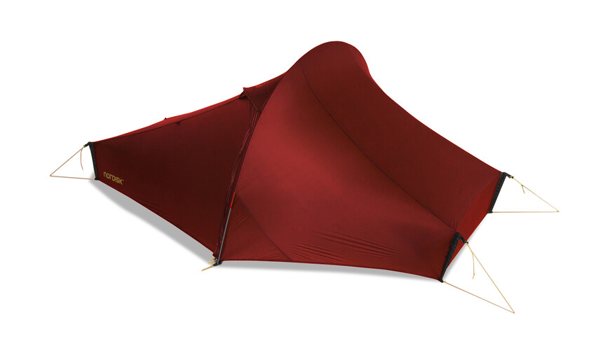 Nordisk Telemark tunneltent 2, ultra light weight rood